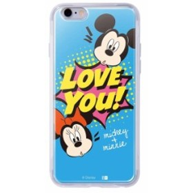 iphone6s iphone6 ケース ディズニー キャラクター TPU+背面パネル カバー disney Love You_1
