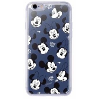 iphone6s iphone6 ケース ディズニー キャラクター TPU+背面パネル カバー disney with a smile_1