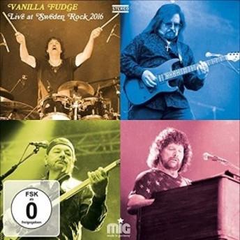 Vanilla Fudge / Live At Sweden Rock 2016 (w/DVD) (輸入盤CD)(2017/12/8発売)(ヴァニラ・ファッジ)