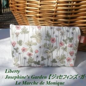 再々入荷♪リバティー Josephine's Garden 【ジョセフィンズ・ガーデン】サーモンピンク (S)