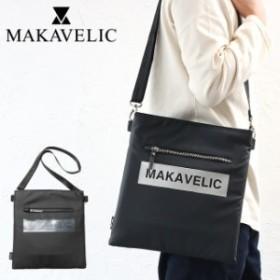 MAKAVELIC マキャベリック LUDUS BOX-LOGO SHOULDER BAG 3108-10502