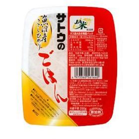 佐藤食品工業 サトウ食品 サトウのごはん 魚沼産コシヒカリ 200g