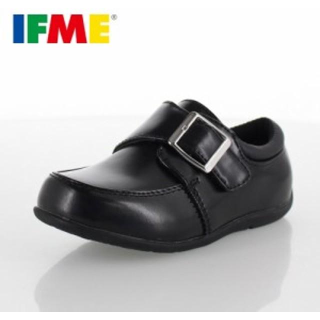 bf149393ccd3f 子供靴 フォーマル IFME FORMAL イフミー キッズ ジュニア シューズ 22-5019 BLACK バックルタイプ 入園