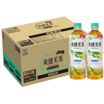 コカ・コーラ 爽健美茶 600ml 1ケース 24本入