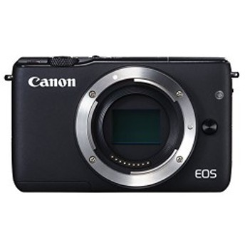 Canon ミラーレス一眼カメラ EOS M10 ボディ(ブラック) EOSM10BK-BODY 中古 良品