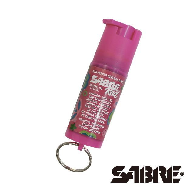SABRE沙豹防身噴霧 輕量鑰匙圈型-蝴蝶 (KR-DL-100)
