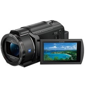 ソニー SONY ビデオカメラ FDR-AX40 4K 64GB 光学20倍 ブラック Handycam FDR-AX40 BC 中古 良品