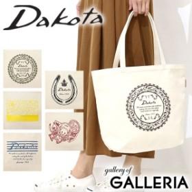 Dakota ダコタ キャンバストートバッグ ワイド 無地 A4 1531291
