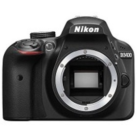 Nikon デジタル一眼レフカメラ D3400 ボディー ブラック D3400BK 中古 良品