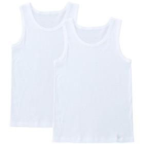 キッズ セブンプレミアムライフスタイル 2枚組 男児ランニングシャツ