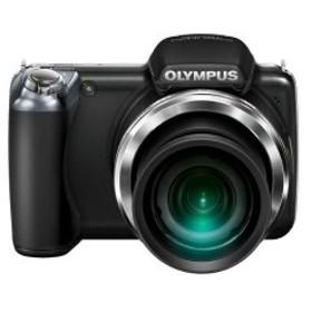 OLYMPUS デジタルカメラ SP-810UZ ブラック 1400万画素 光学36倍ズーム 3.0型ワイドLCD 広角28mm 3Dフォト機能 SP-810UZ BLK 中古 良品