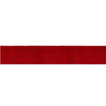 インテリアマット/キッチンマット 【幅252cm×奥行45cm】 ワイン ループパイル 『ダース』