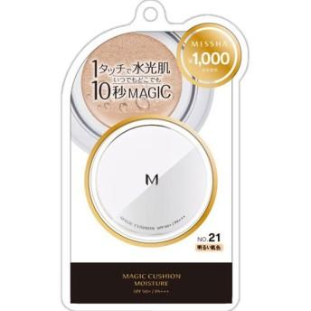 ミシャ M クッション ファンデーション (モイスチャー) No.21 明るい肌色