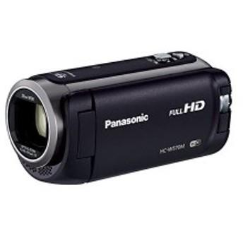 Panasonic HDビデオカメラ W570M ワイプ撮り 90倍ズーム ブラック HC-W570M-K 中古 良品