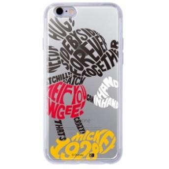iphone6s iphone6 ケース ディズニー キャラクター TPU+背面パネル カバー disney hand in hand_1
