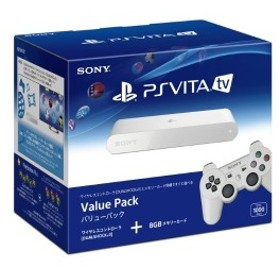 PlayStation Vita TV Value Pack (VTE-1000AA01) 【メーカー生産終了】 中古 良品