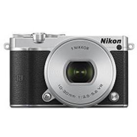 Nikon ミラーレス一眼 Nikon1 J5 標準パワーズームレンズキット シルバー J5HPLKSL 中古 良品