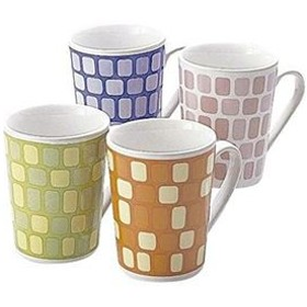モザイクマグカップ(陶器) 【12個セット】 1076
