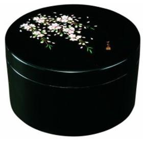 ボンボニエール さくら桜 黒木質・うるし塗漆器 販売 通販 内祝い  菓子器 漆器製品を和歌山からお届けします!23-56-10b