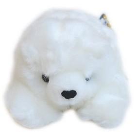 海のどうぶつ ぬいぐるみ シロクマ S サイズ  しろくま 白熊 動物 くま クマ