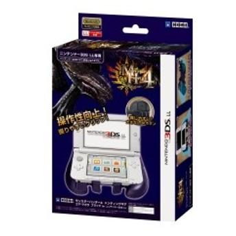 【3DS LL用】モンスターハンター4 ハンティングギア for ニンテンドー3DS LL ゴア・マガラ ブラック 中古 良品