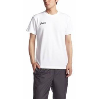 (アシックス)Asics Tシヤツ XA6126 0150 ホワイトxネイビー 130