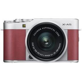 富士フイルム ミラーレス一眼カメラ FUJIFILM X-A5 レンズキット [ピンク]