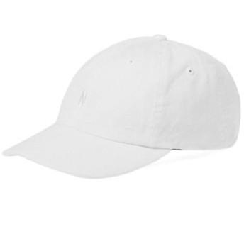 ノース・プロジェクツ 帽子 ハット キャップ メンズ【Norse Projects Light Twill Sports Cap】White