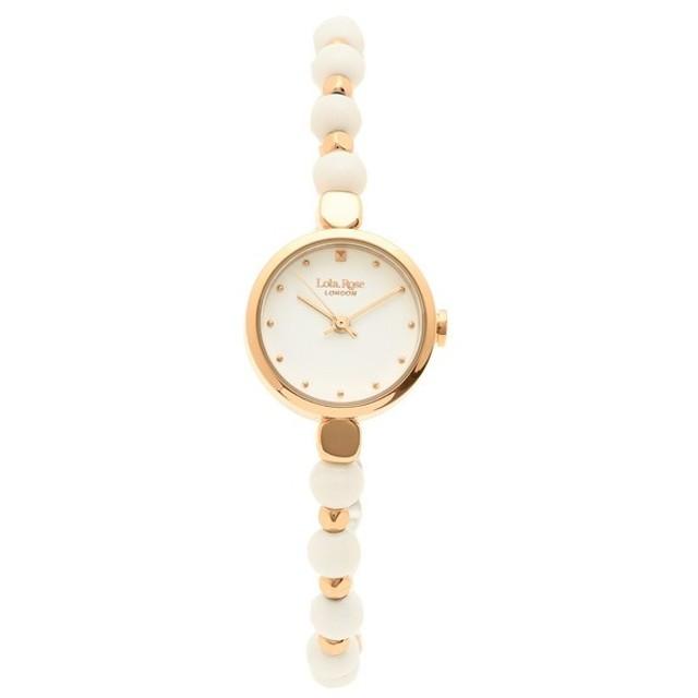 f9c59d0e818a ローラローズ 腕時計 レディース Lola Rose LR4022 ホワイト ローズゴールド