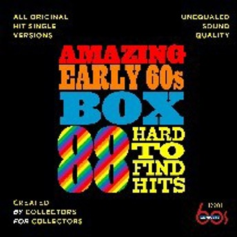 VA / Amazing Early 60's Box: 88 Hard-To-Find Hits (輸入盤CD)