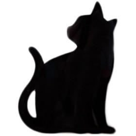 東洋ケース TL-CWL-03 CAT WALL LIGHT ちら見 292-01043 ウォールステッカー インテリア おしゃれ 壁紙 飾り