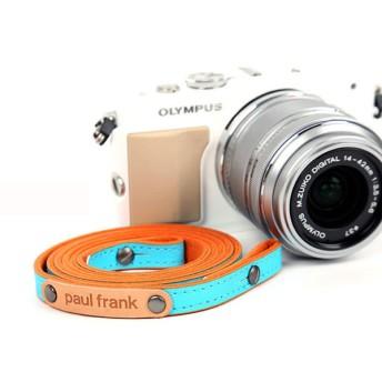 paul frank/ポールフランク ミラーレスカメラ/コンパクトデジカメ用 ネックストラップ 13PF-SN01 BLUE ブルー