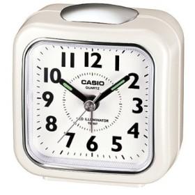 カシオ 置時計 パールホワイト TQ-157-7BJF ( 1コ入 )
