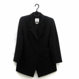 MODE SALON DE NOBUO NAKAMURA コート ブラック アパレル アウター レディース 小物【中古】