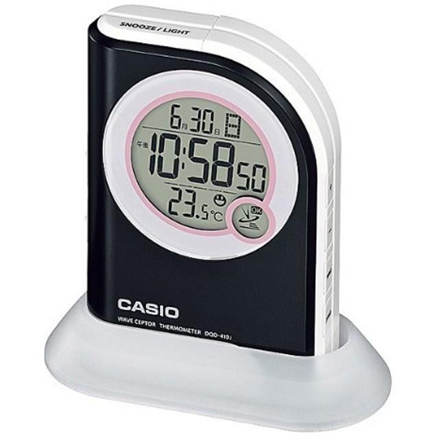 カシオ 電波置時計 ブラック DQD-410J-1JF ( 1コ入 )