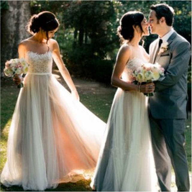 ウェディングドレス イブニングドレス 二次会 花嫁  編み上げ ロングドレス プリンセスドレス カラードレス ロングドレス 演奏