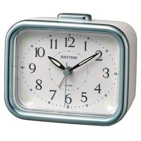 リズム時計 目覚まし時計ジャプレフルール 8RA644SR04 返品種別A
