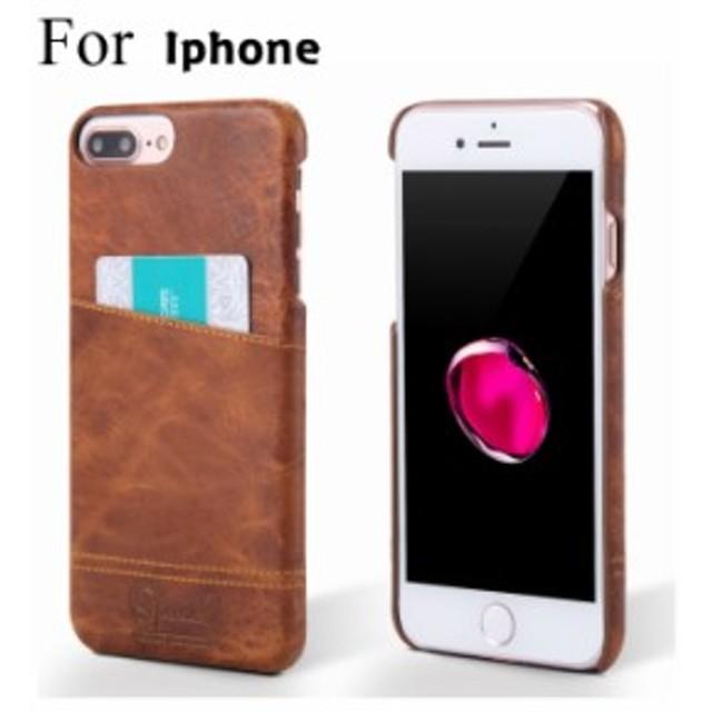 4b3e69ff47 iPhone7 iPhone8 Plus iphone7 plusケース アイフォン 背面保護カバー シンプル カッコイイ 背面ケース カード収納