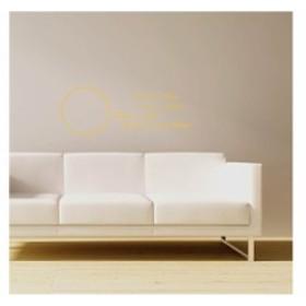 【Smart Design】オシャレな壁紙シール/把握今日/ノリ跡が残らない/壁飾りウォールステッカー#イエロー【新品/送料込み】