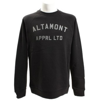 ALTAMONT NON GAME クルーネック フリース スウェット ATH2114 BLACK (Men's)