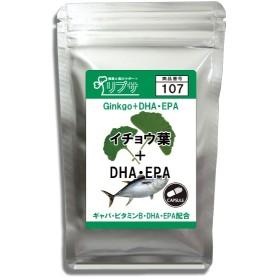 イチョウ葉&DHA・EPA 約1か月分 C-107 送料無料 サプリ サプリメント