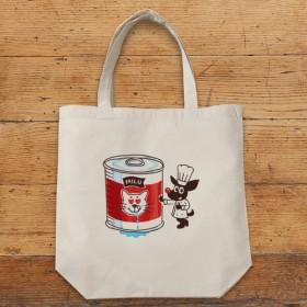 受注制作 miluシェフの猫缶 トートバッグ