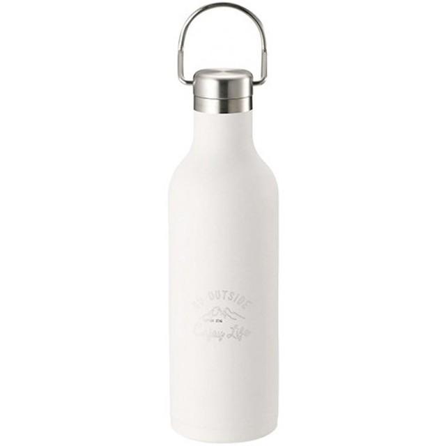 キャプテンスタッグ(CAPTAINSTAG) モンテ ハンガーボトル480 ホワイト UE-3422 水筒 ボトル かわいい キャンプ アウトドア