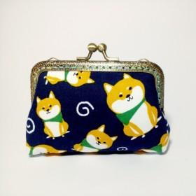 [1987 Handmadesチャイチャイパラダイス - ブルー]クラッチ財布の口の金のパッケージ