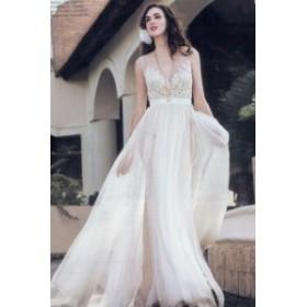 花嫁ドレス カジュアル ウエディングドレス ロングドレス プリンセスライン 白サイズ豊富 XS-XXXL着心地最高 結婚式 二次会 披露宴