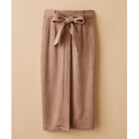 【20%OFF】 ハコ 大人が安心して着られるタイトスカート by que made me レディース ライトブラウン M 【haco!】 【セール開催中】