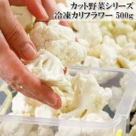 新規出店【カリフラワー 500g】冷凍カット野菜 野菜価格高騰でも安定したお値段【冷凍】