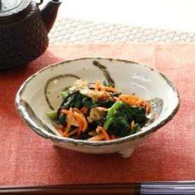 三つ足丸鉢 和食器 錆うず 変形皿シリーズ 美濃焼 日本製 磁器 ( 食器 皿 和皿 小鉢 食洗機対応 和風 電子レンジ対応 おしゃれ 和