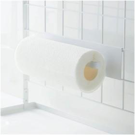 山崎実業 自立式メッシュパネル用 キッチンペーパーホルダー タワー ホワイト 4189