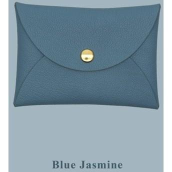 マルチカラー本革のヤギのマカロン夢のような色のグレーの青のカードカバー